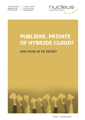 Ebook - Publieke, Private of hybride cloud